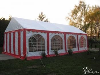 Namiot weselny, catering, Wypożyczalnia namiotów Narol