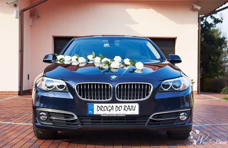 BMW 5 - F10 - Luksusowa limuzyna na ślub i wesele, Katowice - zdjęcie 1