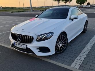 Mercedes E Coupe AMG, Mustang GT i Chevrolet Camaro do ślubu,  Łódź