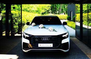 Najnowsze BIAŁE AUDI Q8 na Ślub Wesele | SUV | - luksusowe z klasą, Samochód, auto do ślubu, limuzyna Tarnowskie Góry