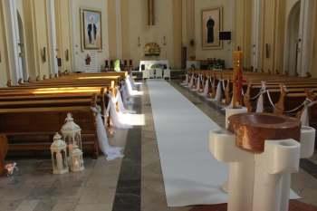 EwelaArt dekoracja sali,kościoła,napis Miłość,ciężki dym,fotobudka