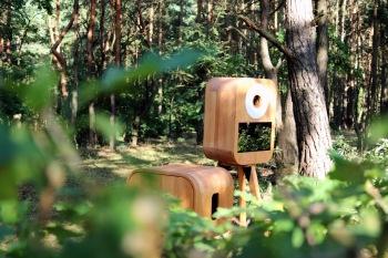 Klimatyczna fotobudka z drewna/Taniec w chmurach/Animator - Photo&Fun