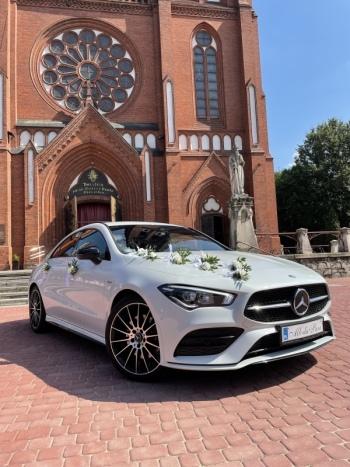 Wymarzony samochód do ślubu. Najnowszy Mercedes CLA AMG 4MATIC, Samochód, auto do ślubu, limuzyna Zawiercie