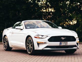 Mustangiem do Ślubu - BIAŁE KABRIO,  Rzeszów