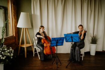 DUET SMYCZKOWY Lavender Duo, Oprawa muzyczna ślubu Czchów
