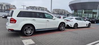 Mercedes GL / Biały / AMG / 22 calowe felgi / aktywny wydech / 7 osób, Samochód, auto do ślubu, limuzyna Orzesze