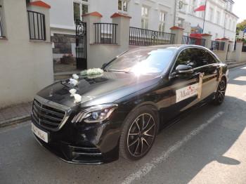 Mercedes S-klasa 2018r, Samochód, auto do ślubu, limuzyna Chełmno