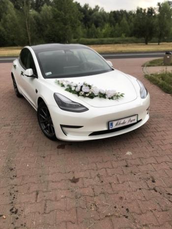 Tesla do ślubu, Samochód, auto do ślubu, limuzyna Pszów