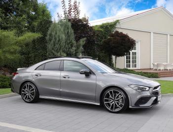 Auto do ślubu samochód na wesele wynajem MERCEDES CLA 35 AMG 2021, Samochód, auto do ślubu, limuzyna Turek