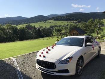Samochód do ślubu ! Maserati Quattroporte, Samochód, auto do ślubu, limuzyna Limanowa