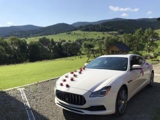 Samochód do ślubu ! Maserati Quattroporte,  Kraków