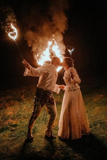 Taniec z Ogniem Inferis najlepsze show na Twoje wesele!, Teatr ognia Katowice