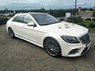 Auta do ślubu - MERCEDES S GLE GLS / MUSTANG GT / BMW M850i,  Konin