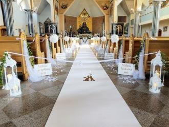 Dekorowanie na zawołanie - dekoracja kościoła, sali oraz wypożyczalnia,  Gdańsk
