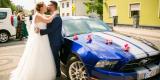 Samochód do ślubu, Auto do ślubu, Mustangiem do ślubu, Ford Mustang, Biała - zdjęcie 3