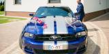 Samochód do ślubu, Auto do ślubu, Mustangiem do ślubu, Ford Mustang, Biała - zdjęcie 2