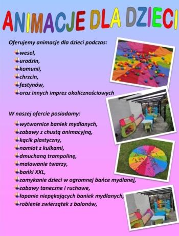Animacje dla dzieci, Animatorzy dla dzieci Narol