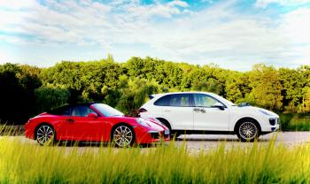 FancyCars - Porsche 911 / Porsche Cayenne, Samochód, auto do ślubu, limuzyna Katowice