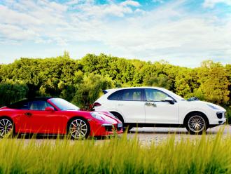 FancyCars - Porsche 911 / Porsche Cayenne,  Katowice