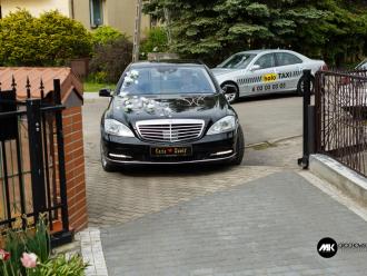Samochód do ślubu Mercedes S500 W221 Long,  Łomża