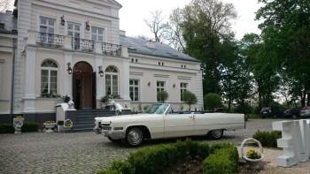 Klasyk do ślubu. Cadillac DeVille Cabrio 1966 rok., Samochód, auto do ślubu, limuzyna Wyszków