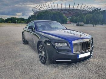 Nowy Rolls-Royce Wraith,Klasyczne-RR Corniche lub Seraph,BMW 5..., Samochód, auto do ślubu, limuzyna Wyszków