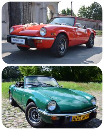 TRIUMPH Spitfire cabrio, auto do ślubu... i nie tylko, Samochód, auto do ślubu, limuzyna Łęczyca