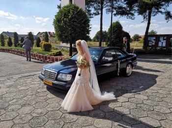 Sam prowadź ! W124 Coupe do ślubu ! Wynajem wesele z kierowcą lub bez, Samochód, auto do ślubu, limuzyna Gostyń