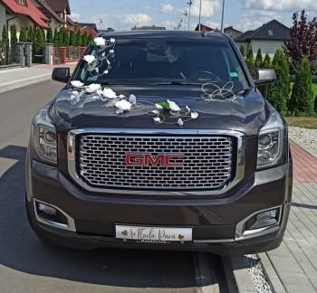 Auto do ślubu z kierowcą. GMC Yukon Denali V8 6.2L, Samochód, auto do ślubu, limuzyna Turek