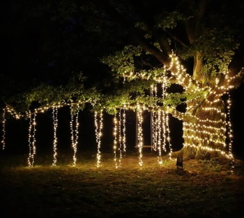 Dekoracje dworu PLENER GIRLANDY Dekoracja Światłem Lampki FAIRY LIGHTS, Dekoracje ślubne Zielona Góra