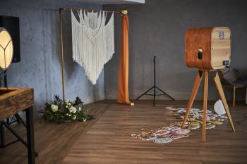 Drewniana Fotobudka w stylu Rustykalnym, dla wymagających // exclusive