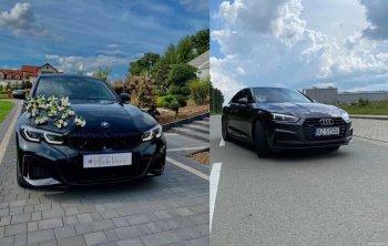 Samochód do ślubu  BMW M340i  i Audi A5, Samochód, auto do ślubu, limuzyna Tarnobrzeg