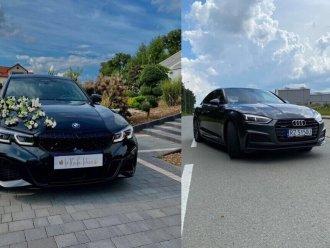 Samochód do ślubu  BMW M340i  i Audi A5,  Rzeszów