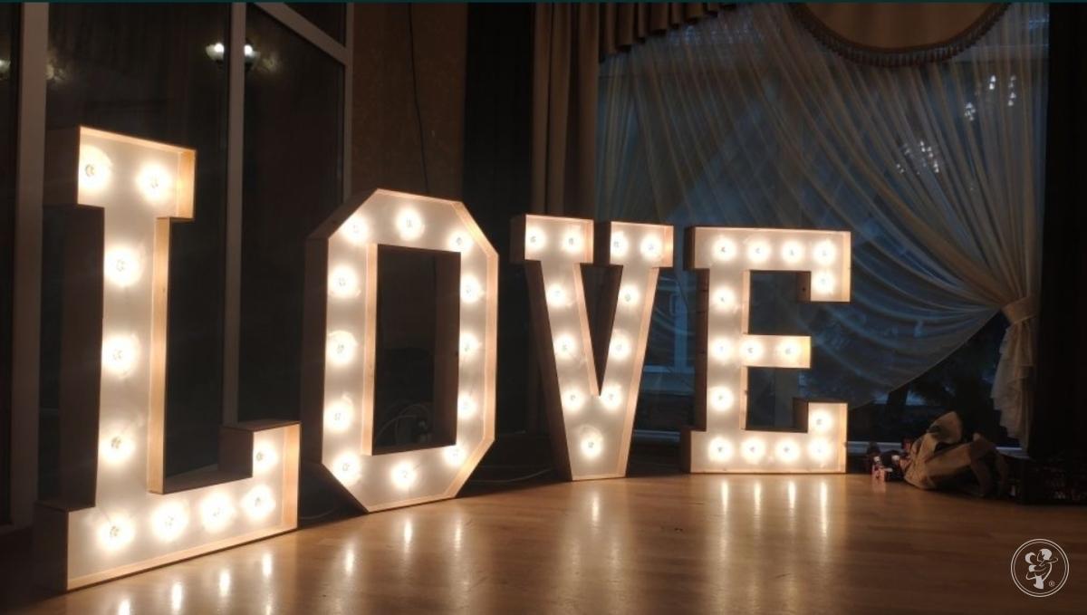Napis LOVE wynajem na WESELE, Bielsko-Biała - zdjęcie 1