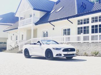 Auto do ślubu MUSTANG GT V8 cabrio AUDI A6, Samochód, auto do ślubu, limuzyna Tarnobrzeg