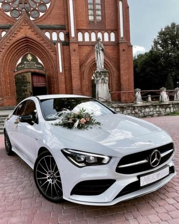 Wymarzony samochód do ślubu. Najnowszy Mercedes CLA AMG 4MATIC, Samochód, auto do ślubu, limuzyna Świątniki Górne