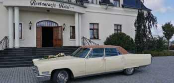 Samochód ,Auto do ślubu Cadillac Fleetwood.Klasyk .,zabytkowy ., Samochód, auto do ślubu, limuzyna Gliwice