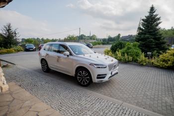 Pięknym Dużym SUV-em do Ślubu VOLVO, Samochód, auto do ślubu, limuzyna Kraków