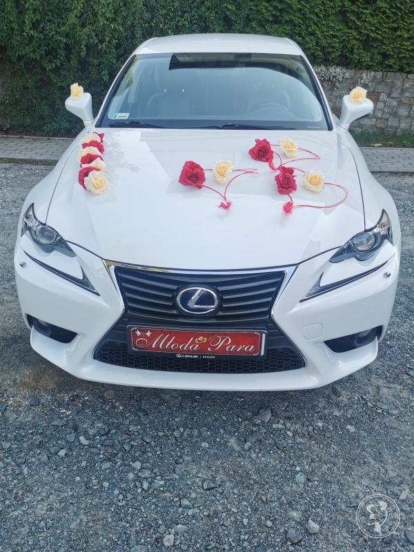 Biały Lexus do ślubu, Jelenia Góra - zdjęcie 1