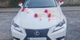 Biały Lexus do ślubu, Jelenia Góra - zdjęcie 3