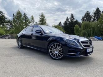 Piękny Mercedes klasy S w wersji Long,  Bielsko-Biała