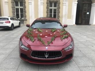 Auto do Ślubu - Piękne MASERATI Ghibli SQ4 -,  Bolesławiec