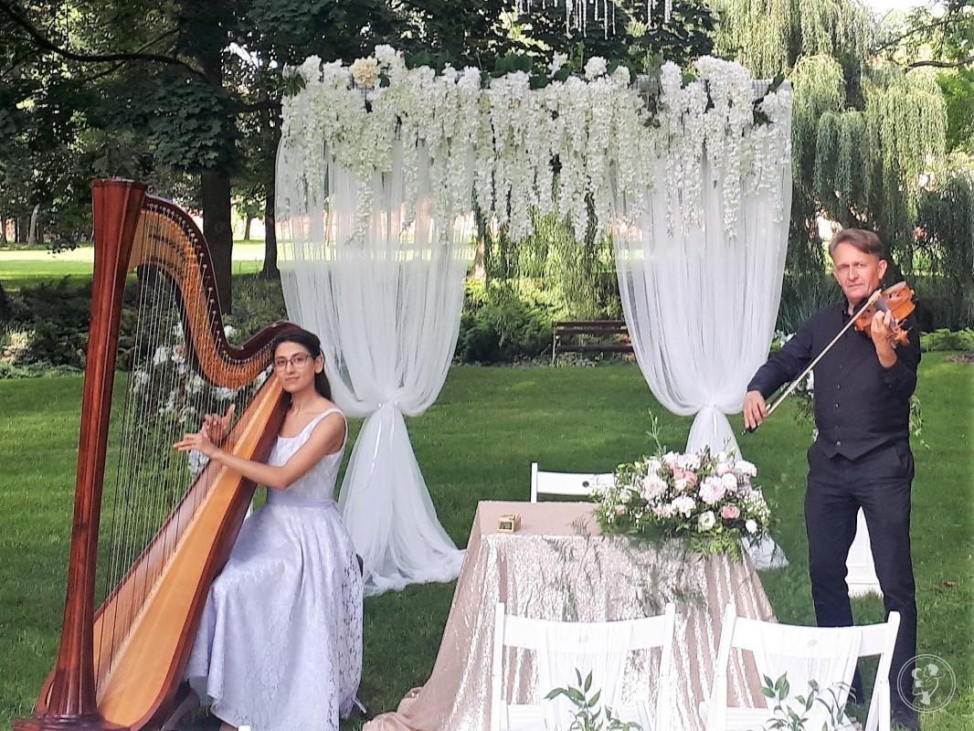 Najpiękniejsza muzyka na ślub-skrzypce,harfa,wokalistka,kwartet,organy, Wrocław - zdjęcie 1