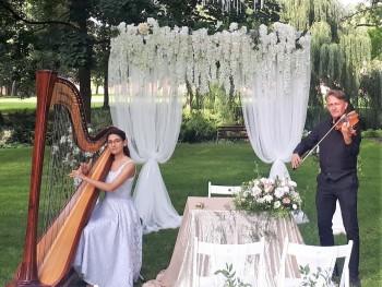 Najpiękniejsza muzyka na ślub-skrzypce,harfa,wokalistka,kwartet,organy, Oprawa muzyczna ślubu Wrocław