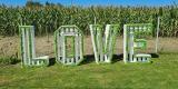 Napis LOVE - MECH CHROBOTEK- MECH I KORA. WYNAJEM, Radlin - zdjęcie 3