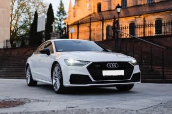 Prestiżowe Audi a7 S-line, Samochód, auto do ślubu, limuzyna Kielce