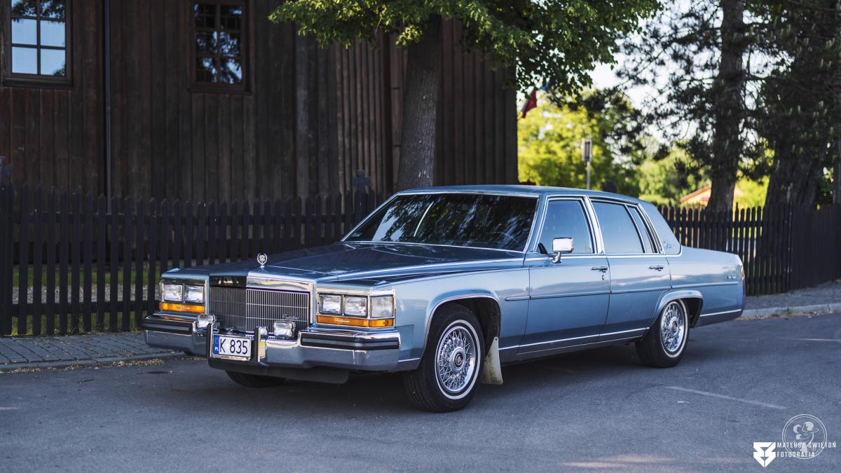 Cadillac Brougham D'elegance z 1986, Kraków - zdjęcie 1