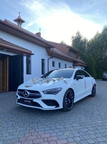 Mercedes CLA35, S klasa, Audi A6, Audi Q7, BMW X5 - WeddingCar4You ❗️🥇, Samochód, auto do ślubu, limuzyna Ciechanów