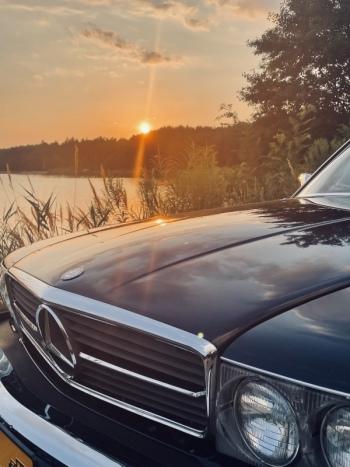 Auto do ślubu Mercedes SL R107 cabriolet, Samochód, auto do ślubu, limuzyna Żabno
