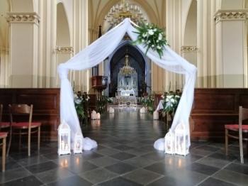 Pracownia Florysyczna Sala weselna kościół samochód bukiety, Artykuły ślubne Janów Lubelski